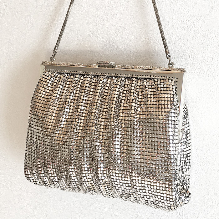 SAC MAILLE ARGENT 012-26