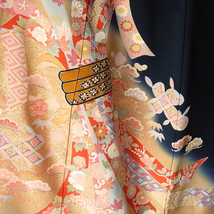 014-23 Kimono kuro-tomesode