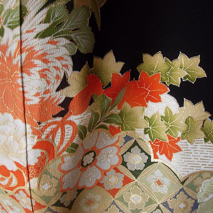 014-7 Kimono kuro-tomesode