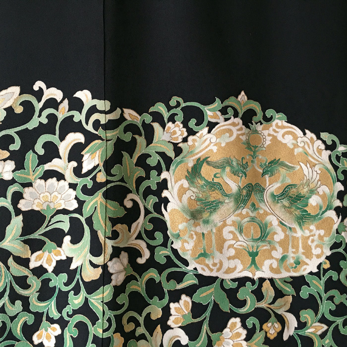 110-78 Kuro-tomesode
