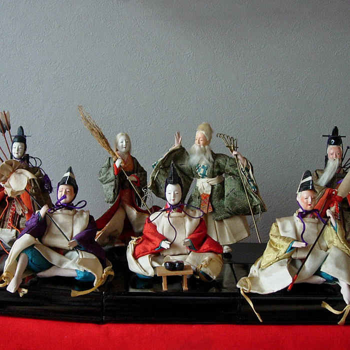 130-267 Ensemble de 12 poupées Hina