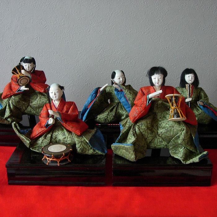 130-268 Hina ningyô gonin-bayashi