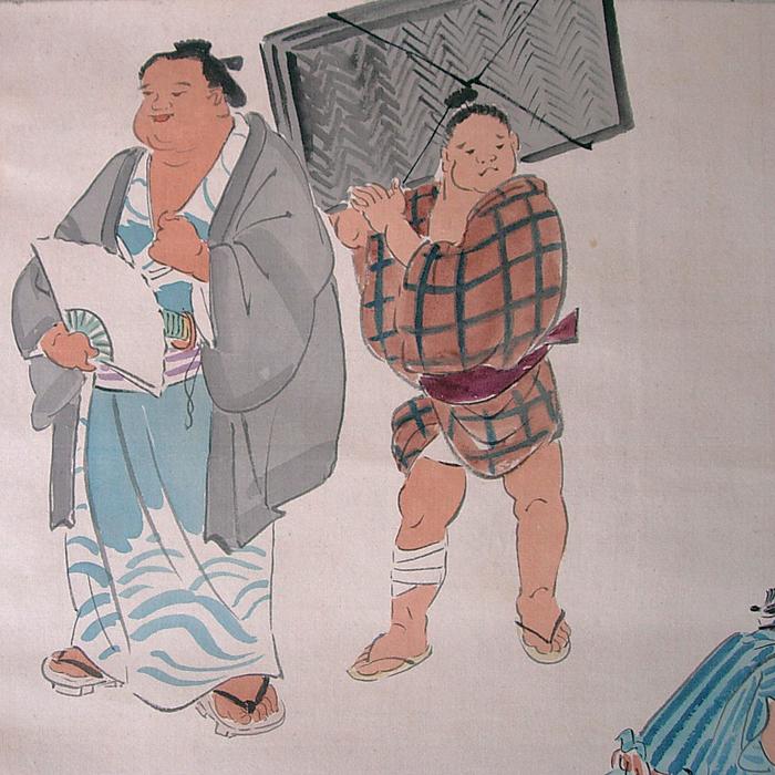 17HA9 Lutteur de sumô