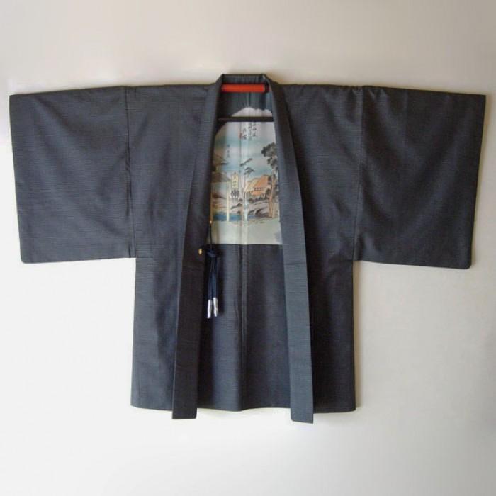 525-339 Ensemble kimono et haori